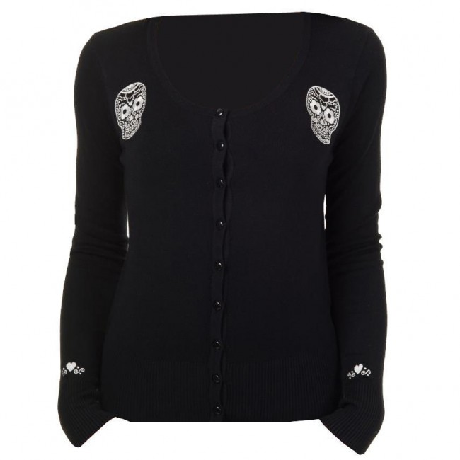 Banned Apparel-Black Magic Cardigan
