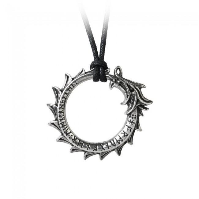 Alchemy Gothic-Jormungard Pendant