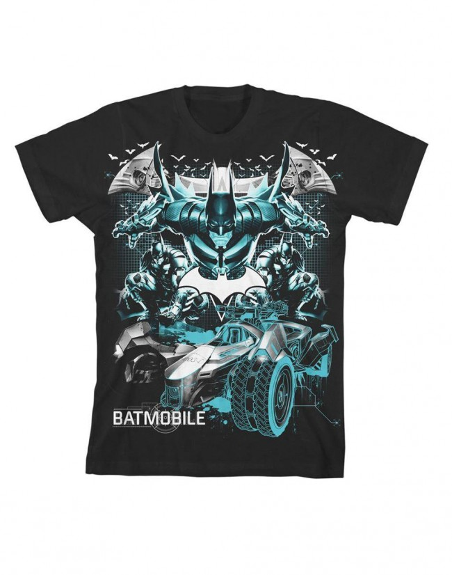 DC Comics-Batman Batmobile T-shirt