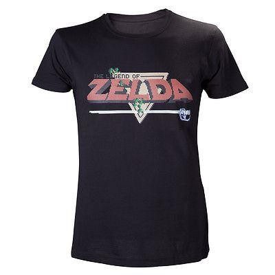 Nintendo-Legend Of Zelda 8-Bit T-shirt