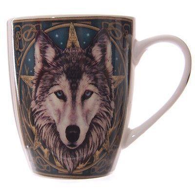 Lisa Parker-Wolf Head Moon Mug