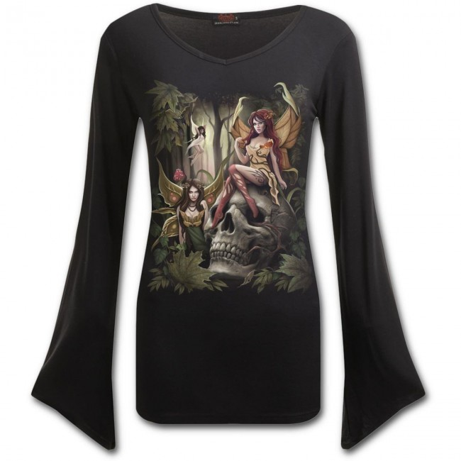 Spiral Direct-Woodland Fairy Long Sleeved Top