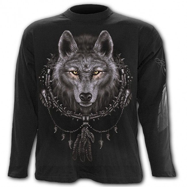 Spiral Direct-Wolf Dreams Long Sleeved T-shirt