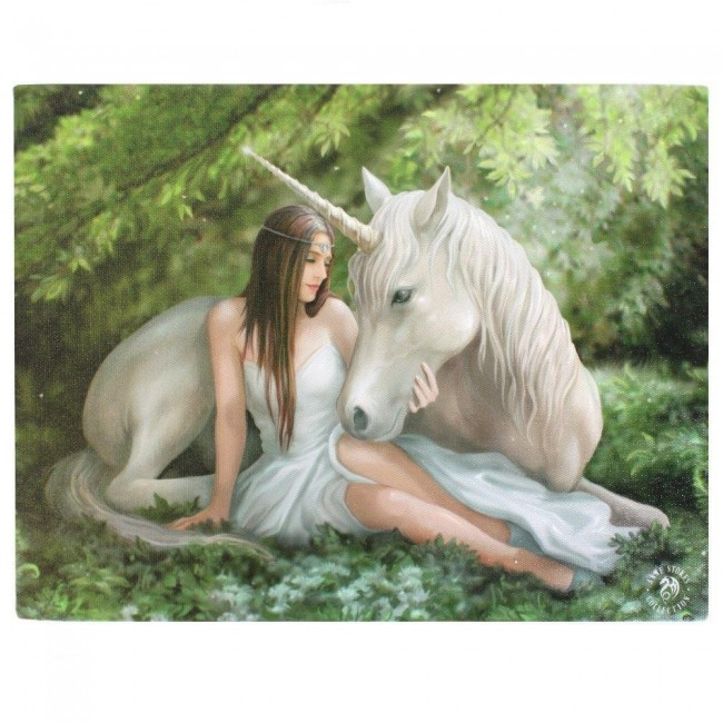 Anne Stokes-Pure Heart Canvas