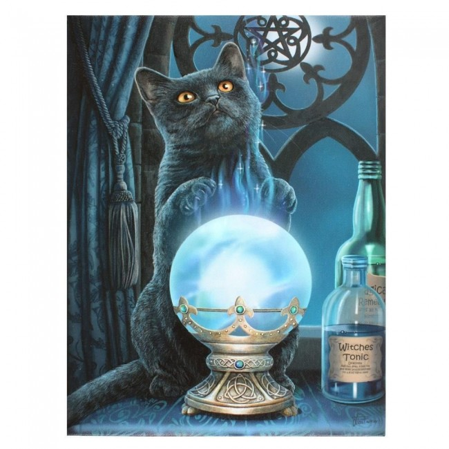 Lisa Parker-The Witches Apprentice Canvas