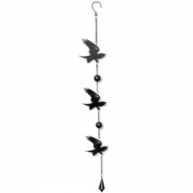 Alchemy Gothic-Raven Hanging Decoration