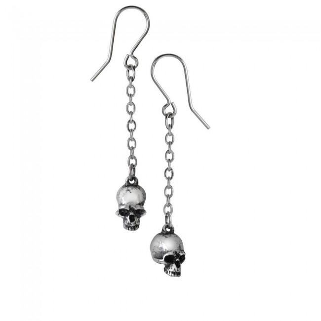 Alchemy Gothic-Deadskull Earrings