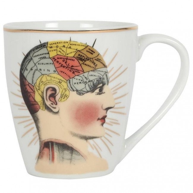 Something Different-Phrenology Mug