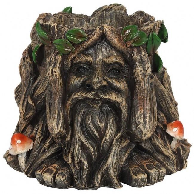 Phoenixx Rising-Green Man Plant Pot