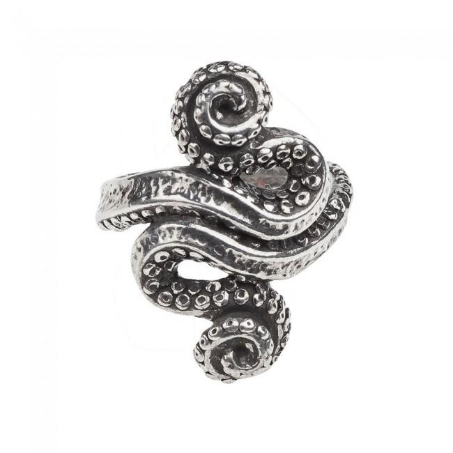 Alchemy Gothic-Kraken Ring
