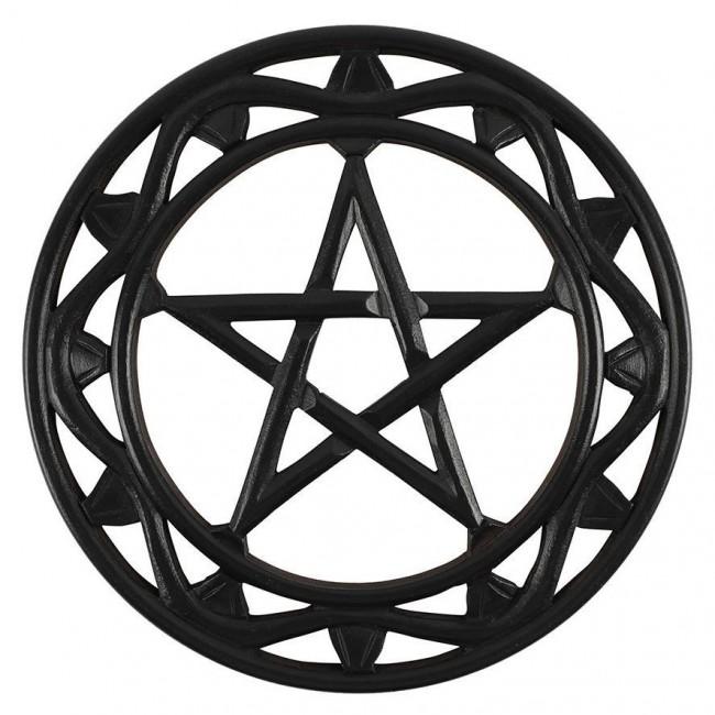 Phoenixx Rising-Pentagram Circular Wall Art