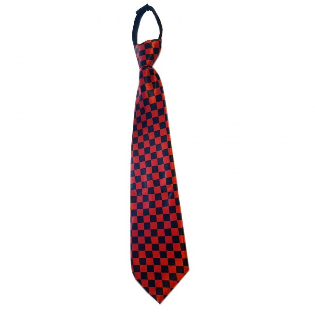 Phoenixx Rising-Checked Tie