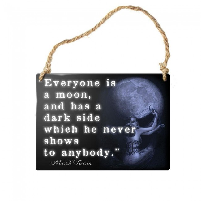 Alchemy Gothic-Everyone Is A Moon Wall Plaque