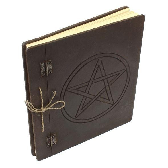 Crystal Magick-Wiccan Pentagram Journal