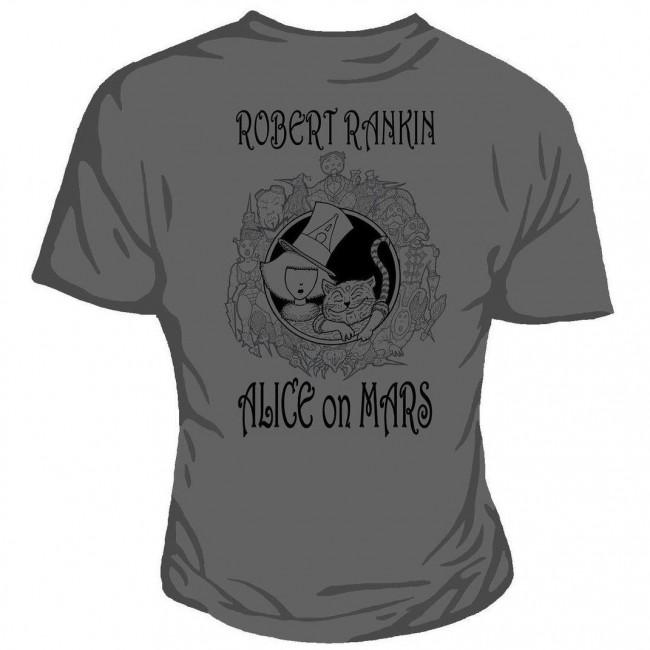 Genki Gear-Robert Rankin Alice On Mars T-shirt