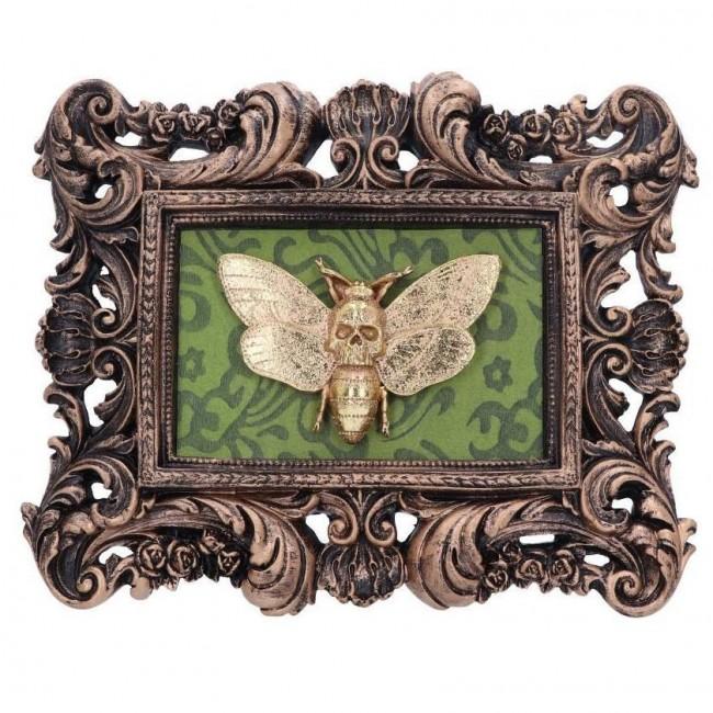 Nemesis Now-Macabre Moth Mount Plaque