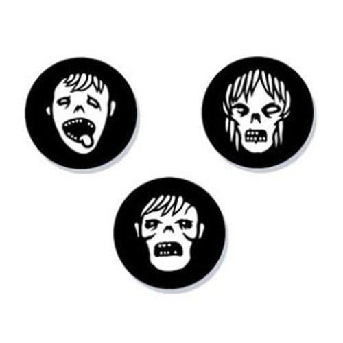 Genki Gear-Zombies Badge Set