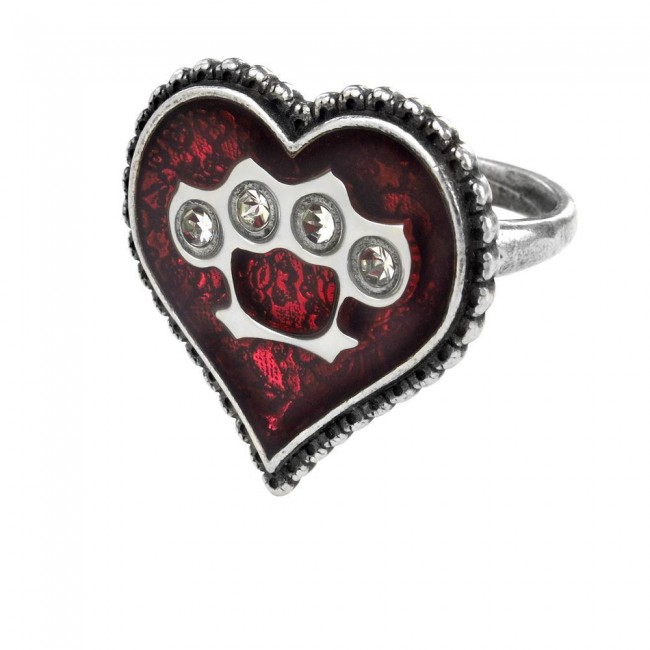 Alchemy Gothic-Tough Love Ring