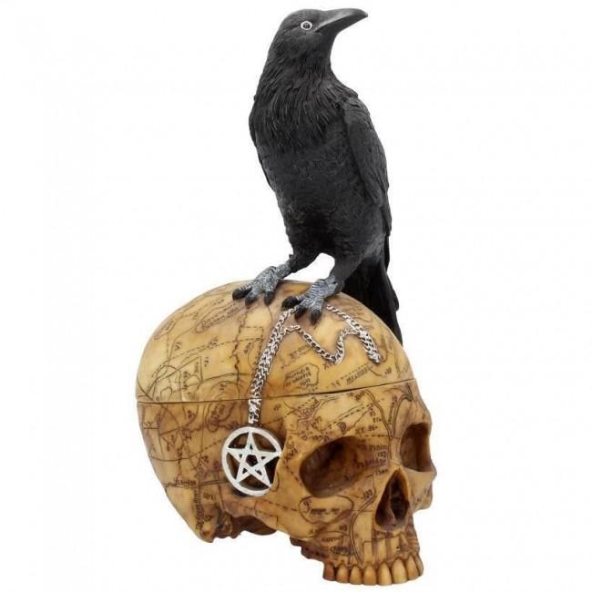 Nemesis Now-Salems Familiar Ornament