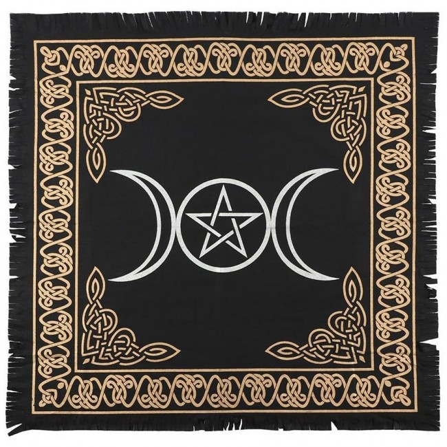 Something Different-Triple Moon Altar Cloth