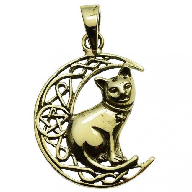Lisa Parker-Cat Moon Pendant