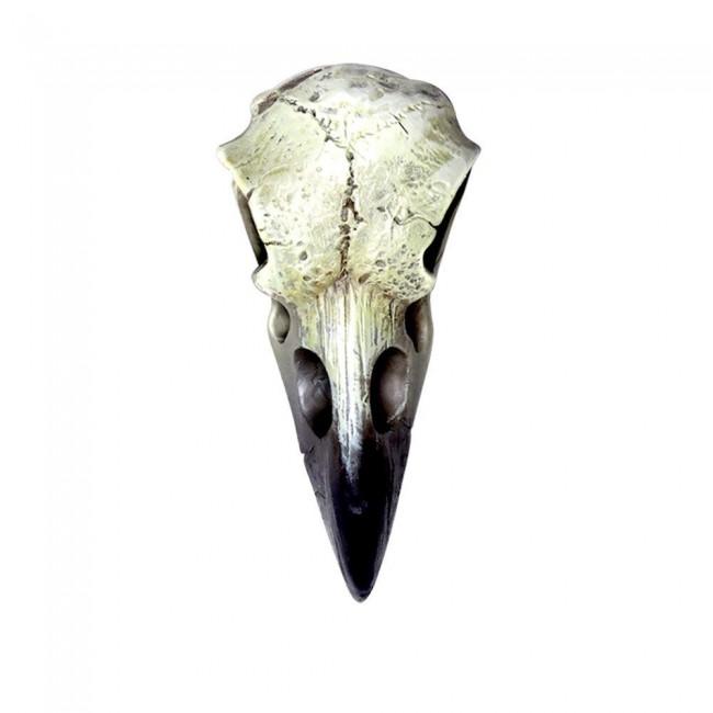 Alchemy Gothic-Reliquary Raven Skull