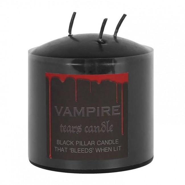 Phoenixx Rising-Vampire Tears Small Pillar Candle