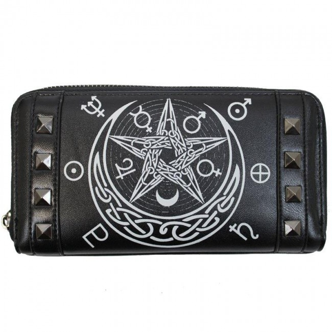 Banned Apparel-Hollow Occult Wallet