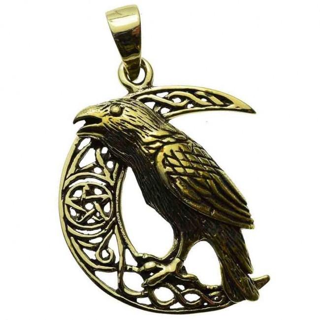 Lisa Parker-Raven Celtic Moon Pendant