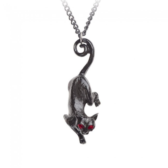 Alchemy Gothic-Cat Sith Pendant
