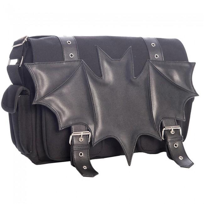 Banned Apparel-Dark Ritual Bat Bag