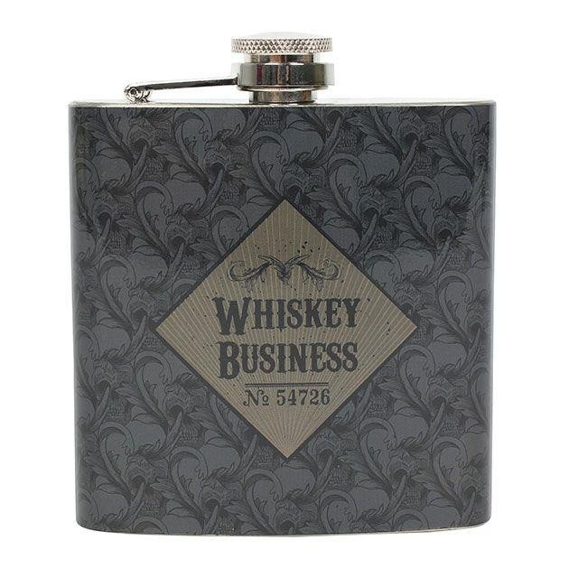 Something Different-Whiskey Business Hip Flask