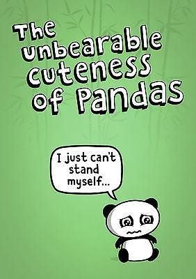 Genki Gear-Unbearable Cuteness Of Pandas Poster