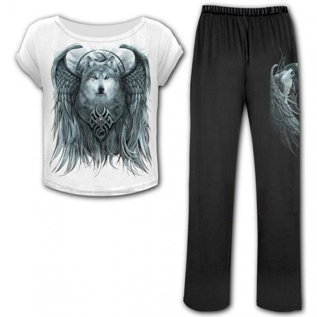 Spiral Direct-Wolf Spirit Pyjama Set