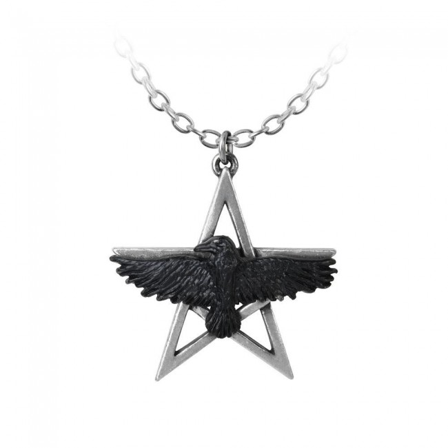 Alchemy Gothic-Ghost-seer Pendant