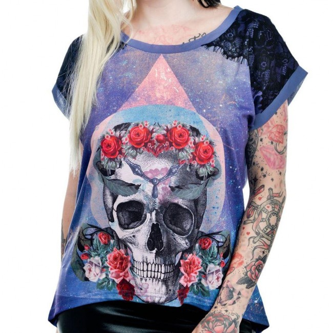 Too Fast-Trinity Skull T-shirt