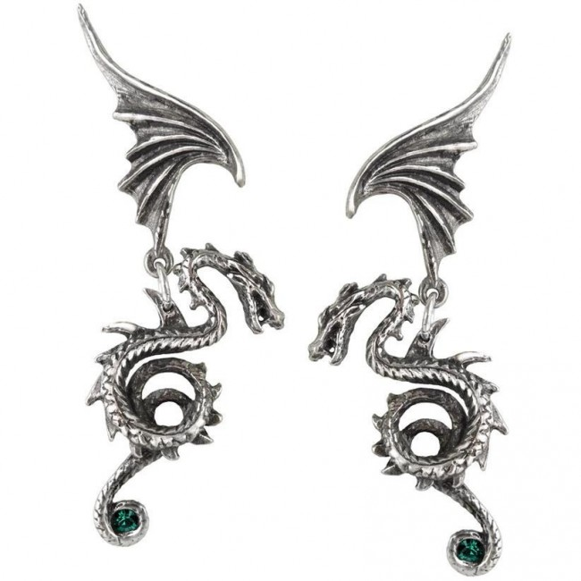 Alchemy Gothic-Bestia Regalis Earrings