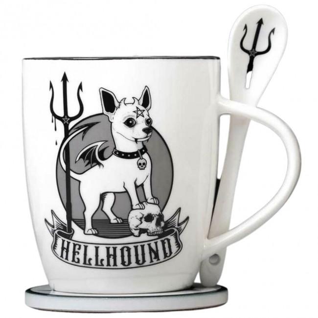 Alchemy Gothic-Hellhound Mug Set