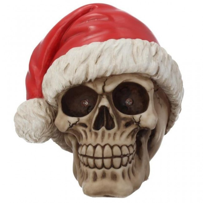 Nemesis Now-Silent Night Skull