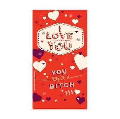 Something Different-I Love You SOAB Card