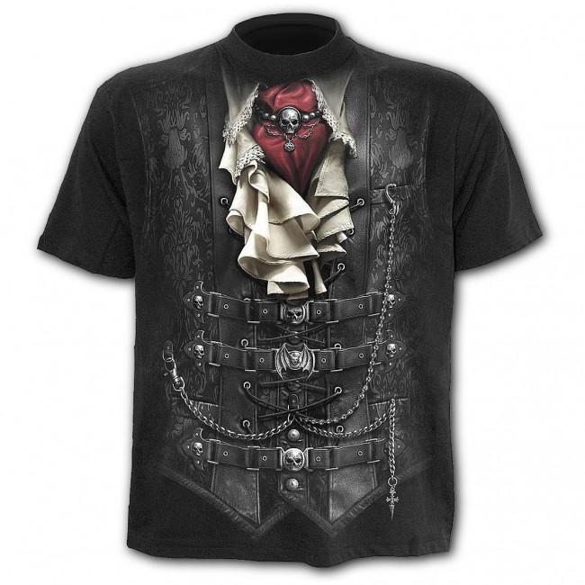 Spiral Direct-Waisted T-shirt
