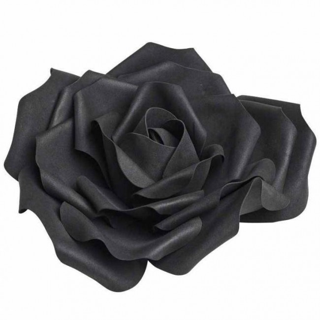 Alchemy Gothic-Large Black Rose