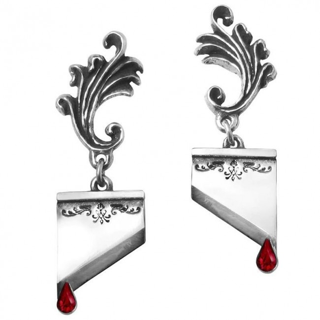 Alchemy Gothic-Marie Antoinette Earrings