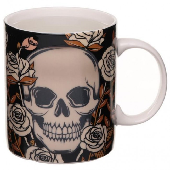 Phoenixx Rising-Skulls and Roses Colour Change Mug