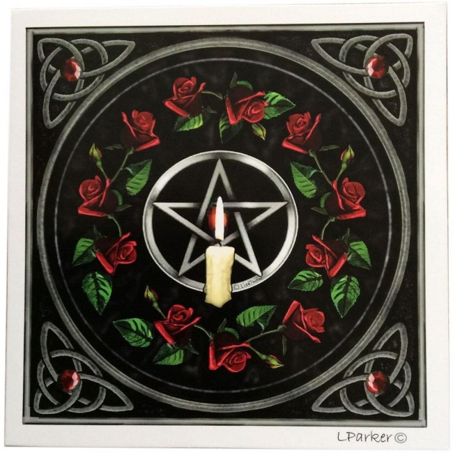 Lisa Parker-Pentagram And Candle Card
