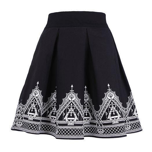 Restyle-Henna Moon Skirt