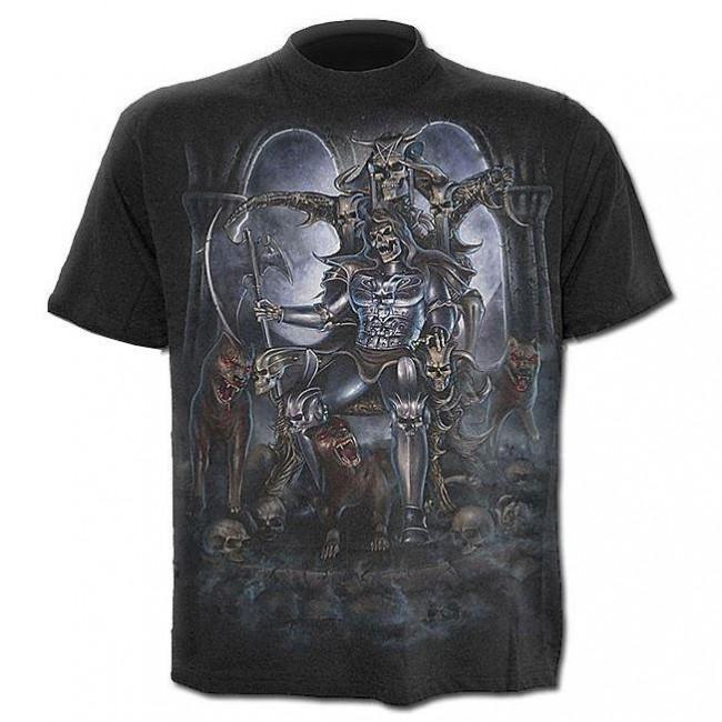 Spiral Direct-Hounds Of Hell T-shirt