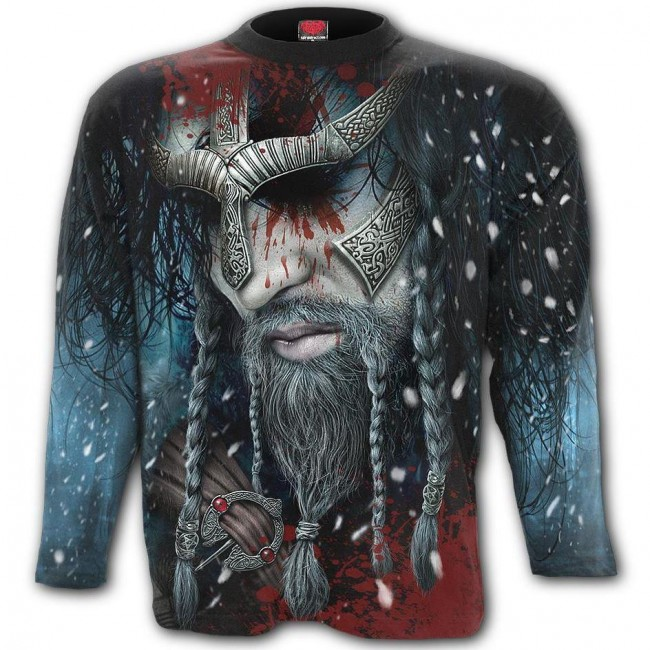 Viking Wrap Long Sleeved T-shirt