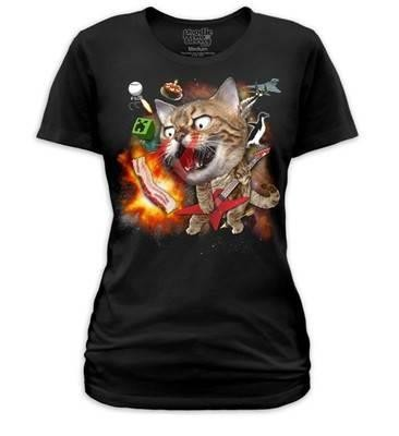 Phoenixx Rising-Internet Cat Meme T-shirt