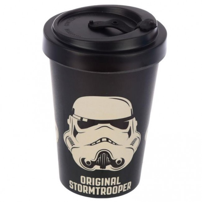 Phoenixx Rising-Stormtrooper Black Travel Mug